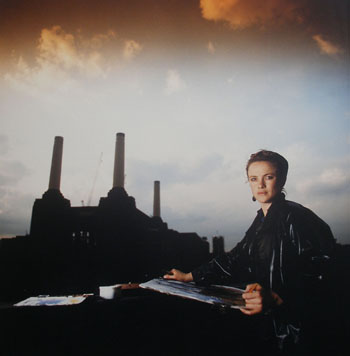 Tabitha at Battersea Power Station. Photo: Paul Lowe
